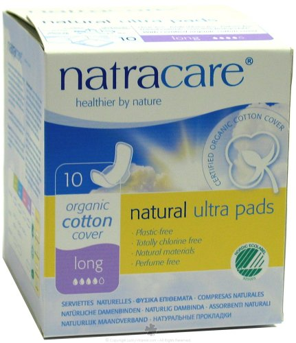 Natural Pads Ultra w/Wings Long 10 Ct