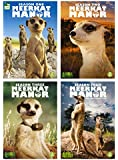 Meerkat Manor - Complete First, Second, Third & Fourth Season (All 52 Episodes on 9 DVDs, Total running time 18 hrs 39 min)