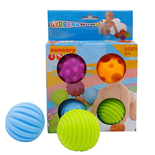 GYBER-TM-4PcsSet-Baby-Ball-Toys-Cute-Grasping-Ball-Baby-Toys-Easy-Grip