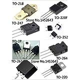Pukido 20PCS/LOT J281 TO-252 / C5387 2SC5387 TO-3PF / IXTP200N075T TO-220 / C5242 2SC5242 TO-3P / 5P6M TO-220 - (Plug Type: C5242 2SC5242) (Color: C5242 2SC5242, Tamaño: C5242 2SC5242)