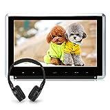 NAVISKAUTO-101-Kopfsttzenmonitor-Kopfsttze-Auto-DVD-Player-TFT-LCD-Bildschirm-1024600-Touch-Taste-Untersttzt-1080p-Video-HDMI-Funktion-USB-Speicher-SD-Karte-FernbedienungIR-Kpfhrer-CH1007BY0101S