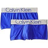 Calvin Klein Men's 2 Pack Steel Micro Trunk