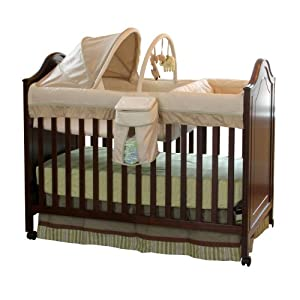 Summer Infant 3-in-1 Symphony Convertible Crib with Bassinet