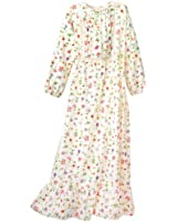National Floral Flannel Nightgown