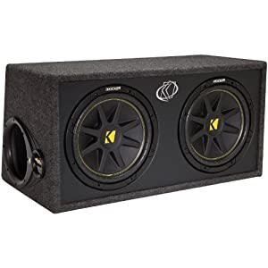 Amazon.com : Kicker 10DC122 Enclosed Car Audio Subwoofer