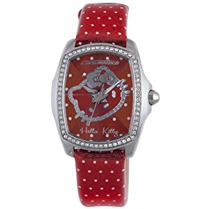 Hello Kitty CT.7896LS-41 Stainless Steel Red Watch