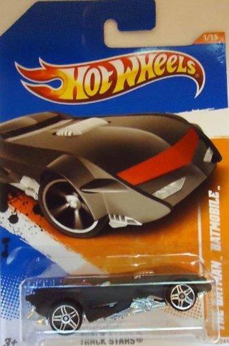 Hot Wheels 2011, The Batman Batmobile, Track Stars 66/244. 1:64 Scale - 1