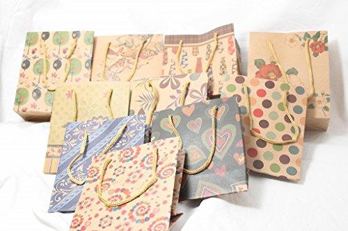 大量 プレゼント 袋 かわいい ラッピング ギフト 小物 入れ テーピング 収納 ケア グッズ ひも 付き パッケージ 商品 梱包 業務用 にも (h 大 20枚)