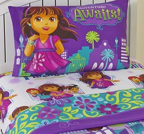 Dora-and-Friends-Adventure-Awaits-3-Piece-Twin-Sheet-Set