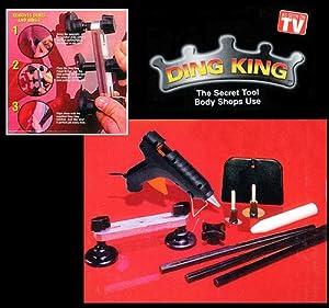 Ding King Car Dent Repair Kit (596) Dent Repair Tool, no more costly dent repairs.
