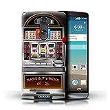 STUFF4 Phone Case Cover for LG G3D850D855 Machine Design Slot Machine Collection
