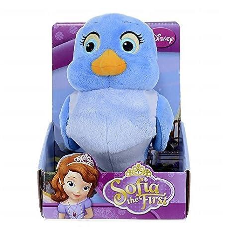 Disney Princess - Sofia the First - Peluche Mia l'Oiseau Bleu - 17 cm Coffret cadeau