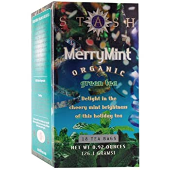 18 ct Organic Merry Mint Green Tea