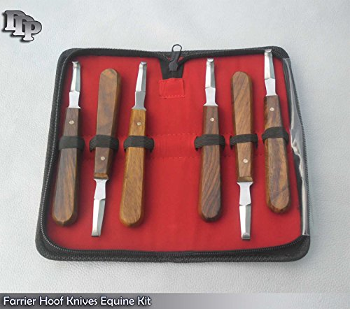 6 Farrier Hoof Knives Equine Horse Knife Ddp