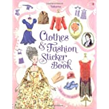 Clothes & Fashion Sticker Book (Usborne Sticker Books)by Ruth Brocklehurst