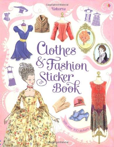 Clothes & Fashion Sticker Book (Usborne Sticker Books)