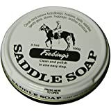 Fiebing's White Saddle Soap, 12 Oz. - Cleans, Softens and Preserves Leather