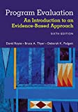 img - for Program Evaluation: An Introduction to an Evidence-Based Approach book / textbook / text book