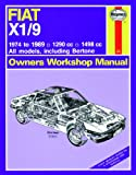 Haynes Garage Quality Car Repair Manual/Book For Fiat X1/9 (74 - 89) up to G * Including a De-Mister Pad and 1 Car Air Freshner.
