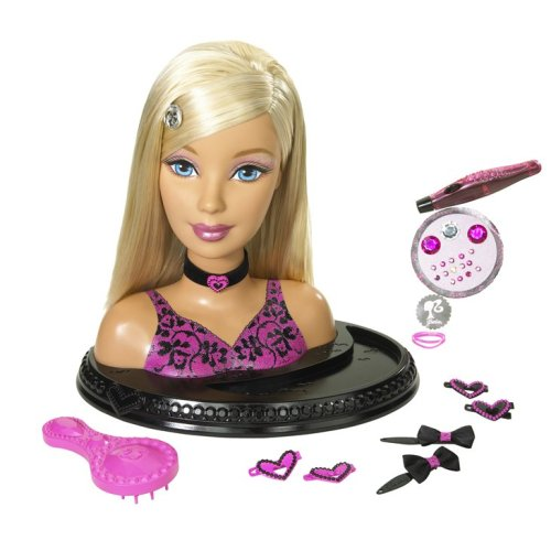 Barbie Totally Hair Styling Head