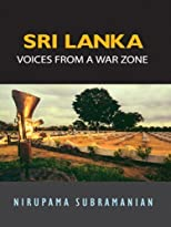 Sri Lanka: Voices from a War Zone by Subramanian, N. published by Viking Paperback