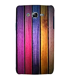 printtech Wooden Colored Pattern Back Case Cover for Samsung Galaxy J5 / Samsung Galaxy J5 J500F
