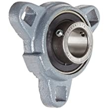 Boston Gear XL33/4 Mounted Bearing, Flange, Light Duty, 3 Bolts, 0.75 Bore