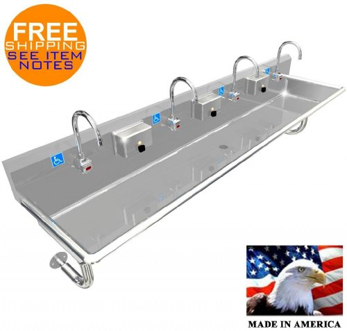 Commercial Hand Washing Sink front-635230