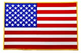 Large American Flag Embroidered Patch USA United States of America Iron-On