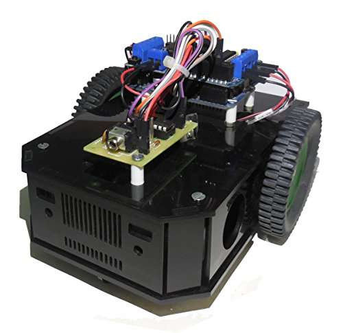 Robo India Arduino Based Wireless DTMF Robot Kit with original Arduino UNO Board.