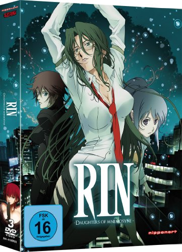 RIN: Daughters of Mnemosyne, DVD
