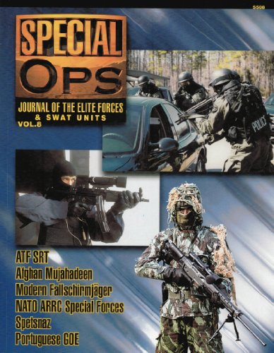 Concord Publications Special Ops Journal #8 AFT SRT Afghan Mujahadeen Modern Fallschirmjager NATO ARRC Special Forces Spetsnaz Portuguese GOE - 1