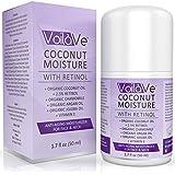 Coconut Moisture with Retinol - Organic Coconut Oil Face Moisturizer + 2.5% Retinol + Vitamin C & Vitamin E + Chamomile & Organic Argan Oil - Best Face Moisturizer Available - 1.7 fl. oz.
