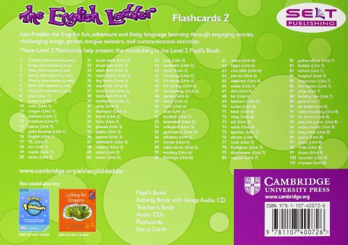 The English Ladder  2 Flashcards (Pack of 101)