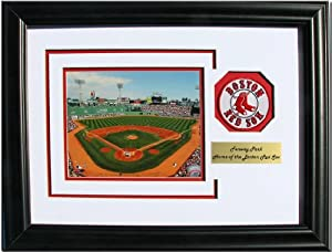 CGI Sports Memories Boston Red Sox Fenway Park Photo Frame with 3D Double Mat by CGI Sports Memories