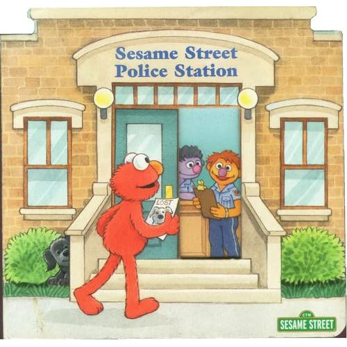 Sesame Street Police Station (123 SESAME STREET READ WITH ELMO) SUSAN HOOD and MAGGIE SWANSON