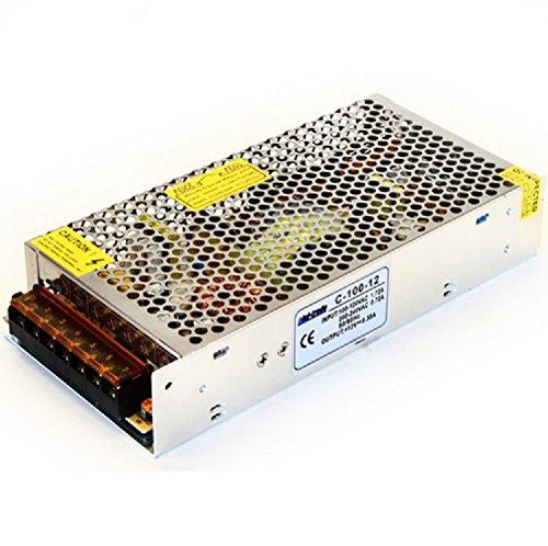 DC LED Leisten TRAFO Transformator Netzteil (Modell C-100-12 mit 100W)
