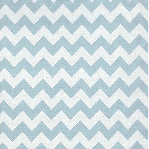 Trend Lab Sky Chevron Crib Sheet - 1