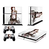 EBTY-Dreams Inc. - Sony Playstation 4 (PS4) - Shingeki no Kyojin Attack on Titan Anime Sasha Blouse Vinyl Skin Sticker Decal Protector