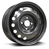Steel Rim 14x5.5, 4-100, 57.1, 45, black finish (READ ENTIRE LISTING) X99148N