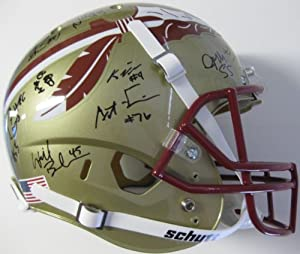 2013-2014 BCS National Champion Florida State Seminoles, Team, Signed, Autographed,... by Coast+to+Coast+Collectibles