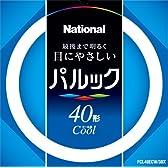 パナソニック パルック蛍光灯 40形 丸形・スタータ形 クール色  FCL40ECW38X