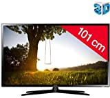 SAMSUNG UE40F6100 - LED-backlit 3D TV UE40F6100AWXZF (The Samsung UE40-F6100 is a 3D Full HD TV that offers you an exceptional viewing experience.The UE40-F6100Â screen has a powerful 3D HyperReal Engine processor that optimizes performance for highly co