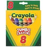 So Big Large Crayons (8/Box) [Set of 2]