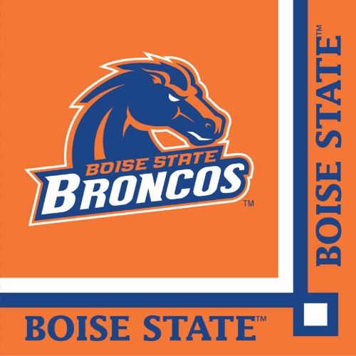 Creative Converting 20 Count Boise State Broncos Beverage Napkins
