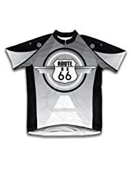 Route 66 Short Sleeve Cycling Jersey for Women