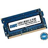 OWC 4.0 GB (2 x 2GB) PC8500 DDR3 1066 MHz 204-pin Memory Upgrade Kit For MacBook Pro, MacBook, Mac mini and iMac (Tamaño: 4GB ( 2x 2GB))
