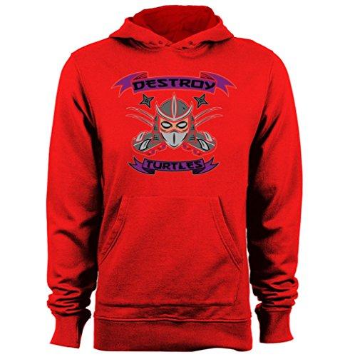 Destroy Turles Shredder TMNT Teenage Mutant Ninja Turtles graphic hoodies