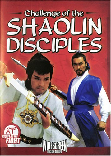 Cover art for  Challenge of the Shaolin Disciples