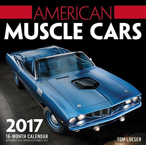 American Muscle Cars 2017: 16-Month Calendar September
